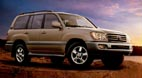 location de 4x4 Toyota LAND CRUISER